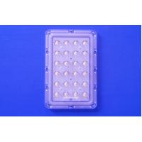 Buy cheap 24 Points 145x75 Degree Asymmetric Led Street Light Optical Lens With 3535 PCB Module product
