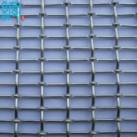 China Aluminum Crimped Metal Wire Mesh For Architectural Decoration on sale