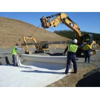 Non Woven Ground Cover Fabric , Geotextile Filter Fabric For Construction Soil Retainer