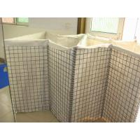 Buy cheap Galvanized Steel Military Sand Wall Hesco Barrier Hesco Bastion product