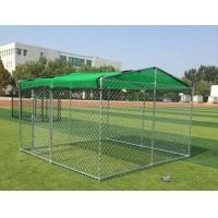 Buy cheap Eco-Friendly Galvanized Chain Link Dog Cage For Animals 60 * 60mm from wholesalers