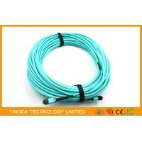 Buy cheap 12 Fibers OM3 10Gig MTP MPO Cable, Trunk Cable MPO - MPO 12 F.O. OM3 15 Mts product