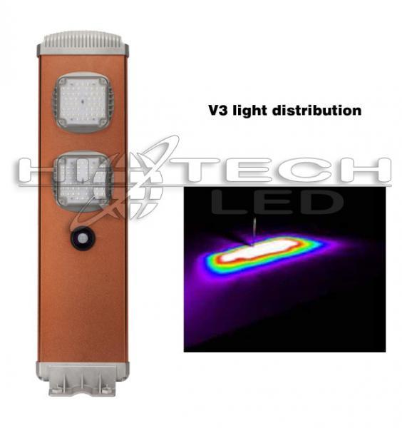 Quality Hitechled HT-SS-A120 Iluminación solar todo en uno, Luminarias solares all in one for sale