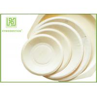 Buy cheap Eco - Friendly Disposable Wooden Plates Biodegradable Bamboo Plates OEM product