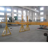 Buy cheap Lifting Suspension Mechanism Suspended Work Platform With Dipping Zinc / Painted Steel Material product