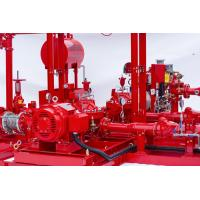 Buy cheap NFPA20 Accordance Fire Pump Skid Package With Split Case Fire Pump Sets 150PSI product