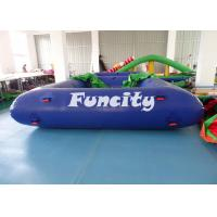 0.9MM PVC Tarpaulin Inflatable Sport Games Water Volleyball Court / Water