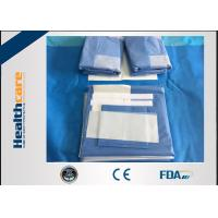 China SMMS Custom Surgical Packs Medical Angiography Pack With EO Gas Sterile on sale