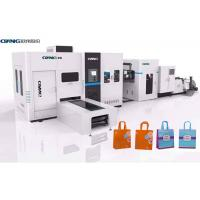 Buy cheap Efficient Productivity Non Woven Carry Bag Making Machine 380 V 50 Hz 3 Phase product