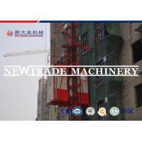 Buy cheap Sc200 2*11kw Motor Grader Conversion Construction Material Hoist With Double Cage product