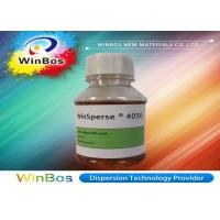 Buy cheap Non - APE Water Based Pigment Dispersions Dispersing Pigment In Aqueous Colorant product