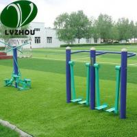 Buy cheap 25mm Colorful Artificial Grass / Purple Fake Grass 16800 Density Ornamental product