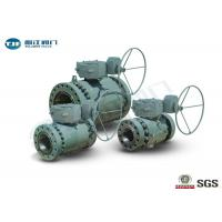 China Flange End Trunnion Ball Valve , API 6D Three Piece Ball Valve 2 - 42 on sale