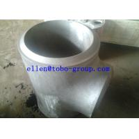 Buy cheap ASTM A815 WPS32750 reducing tee product
