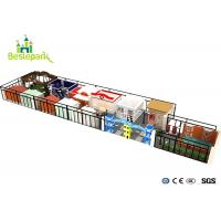 Buy cheap Situation House Roleplay Commercial Funny Children Indoor Playground High from wholesalers