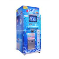 Buy cheap Restaurant Commercial Ice Vending Machine Charged By Coin / Note CE Approval product