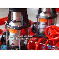 Buy cheap NFPA20 GB6245 Fire Water Jockey Pump  25GPM Fire Fighting System For Building product