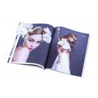 Matte Lamination A4 Glossy Paper Monthly Magazine Printing CMYK / Pantone Color