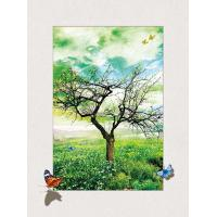Buy cheap Four Season Tree 5d Lenticular Pictures 0.6mm Pet 30*40cm Painting Poster product