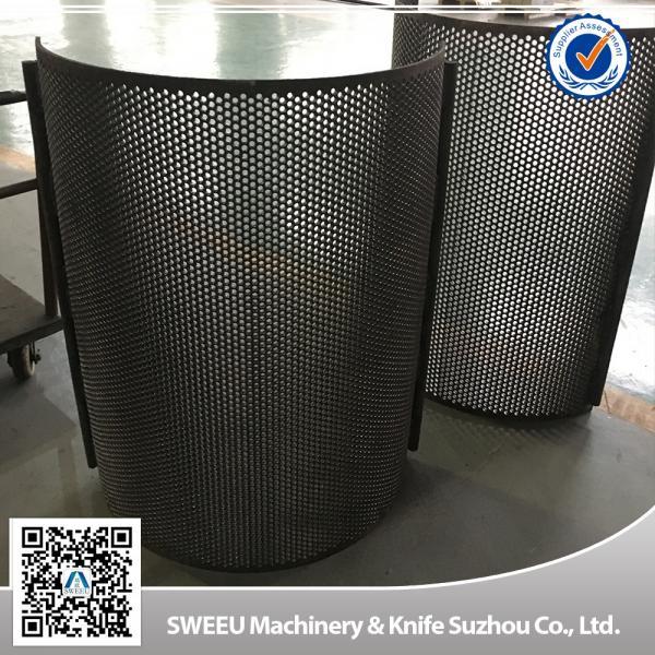 Quality High Quality China Granulator Screens for Plastics for sale