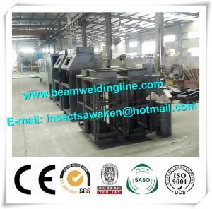 China Roller Type Manual H Beam Shot Blasting Machine Sand Blasting Machine on sale