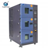 Buy cheap Air Cooling Type 3-layer Climatic Temperature Humidity Test Chamber product