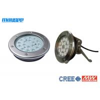 Buy cheap Cree 316 Stainless Steel Pool Lamps Underwater Led Lighting For Fountains product