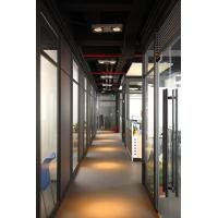 Buy cheap 2017 China hot sales Divider waterproof sound proof cheap panel material design decorative aluminum glass room  BS-6127W product