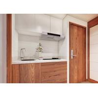 Buy cheap Liquid Flat Pack Luxury Prefab House Custom With Wooden Interior / Bedroom product
