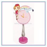China New promo gifts fashion table clock for brands on sale