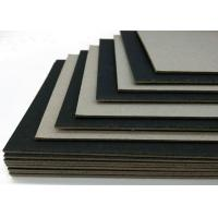 Buy cheap Mixed Pulp High Stiff Black Card / One Side Laminated Black Paper Board from wholesalers