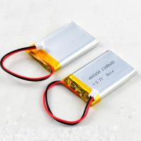 Buy cheap Rechargeable Lithium Polymer Bluetooth Battery 603450 3.7V 1100mAh for Speaker Card product