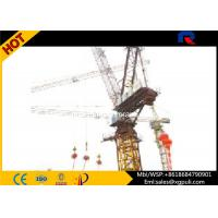 Self Erecting 10 Ton Luffing Jib Tower Crane Lifting Equipment For Skyscrapers