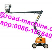 Buy cheap GTBZ14 Model Heavy Construction Machinery 14m Articulated Boom Type Aerial Work Platform product