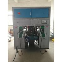 China Double Lane Tissue Paper Converting Machine 3 Servo Control Rotary Cutting on sale