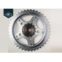 Buy cheap Spare Part 1045 Steel Sprockets Motorcycle Chains And Sprockets CBX250 / 520 product