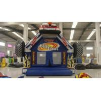 Buy cheap 2017 Crazy Car Giant Inflatable Bounce House Kids Favourite Inflatable Air Jumper Car Truck product