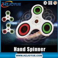 Newest 2017Hot sell plastic material Finger Toy Focus Toys hand fidget spinner toy