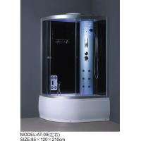 Buy cheap Medium Jets Complete Shower Enclosures 3 sided Waste drain / Syphon included product