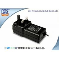 Buy cheap Black Wall Mounted 12V Power Adapter 1.5M Cable 3 Prong Plug With CE Certificates product