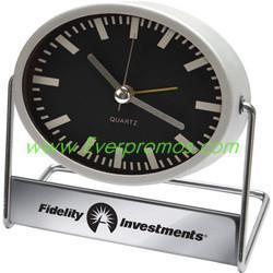 China Swiveling Metal Alarm Clock on sale
