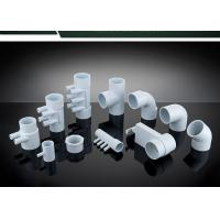 Buy cheap PVC Plumbing Parts Plastic Water Distribution Manifold , Tee , Elbow For Connecting from wholesalers