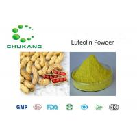 Buy cheap Nature Herbal Ingredients Luteolin Arachis hypogaea L Anti Inflammatory And Antibacterial Effects product