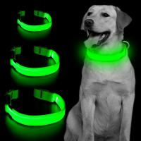 Buy cheap High Visibility Rechargeable Light Up Dog Collar product