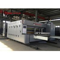 Buy cheap Economic Model Flexo Printer Slotter Die Cutter Machine For Pizza Box 50mm Wall Board product