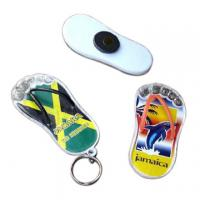 Buy cheap fashionable acrylic custom bottle opener keychain product