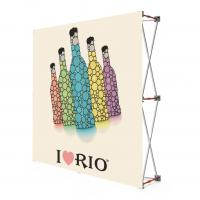 Buy cheap Fabric Portable Pull Up Display Banners , 2 * 2 Roll Up Display Stands product