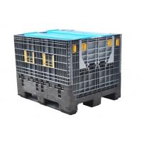Buy cheap Grey Industrial Plastic Storage Boxes / Stackable Storage Bins For Vegetable Food product