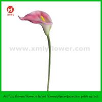 "Buy cheap 27""Artificial Natural Touch Foam Flower Large Calla Lily from wholesalers"