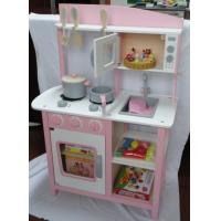 Buy cheap Play House Luxury Large Multifunction Kitchen Toys Microwave Oven Kids Wooden Play Sets from wholesalers